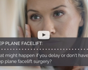 What might happen if you delay or dont have deep plane facelift surgery british face clinic london mrinal supriya