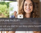 When will you start to see deep plane facelift surgery results british face clinic london mrinal supriya